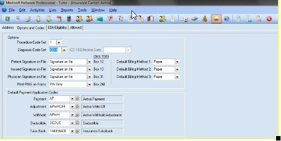 To set the ICD version of an single carrier