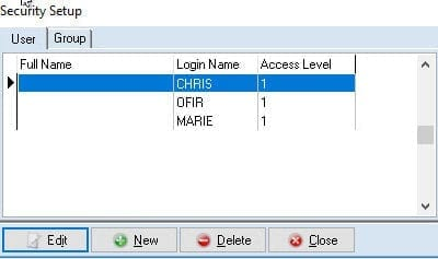 How To Add A New User And Set Access Levels